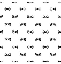 Skein of yarn pattern vector