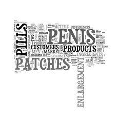 Why penis patches are better than penis pills vector