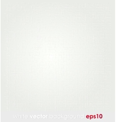 Abstract white vintage texture background vector image