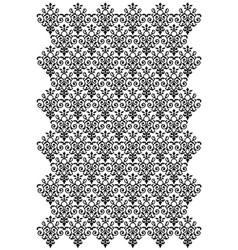damask design vector image