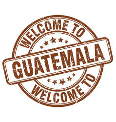 Welcome to guatemala vector