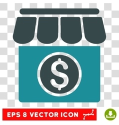 Market icon vector