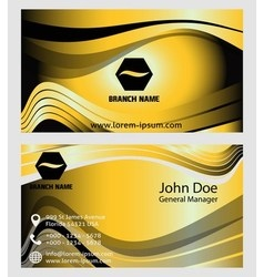 Collection of vertical business card template vector