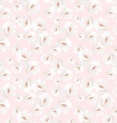 Elegance seamless pattern with flowers roses vector