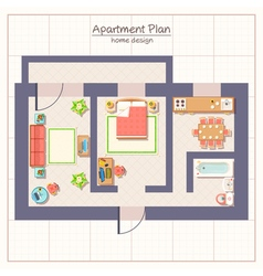 Architectural Plan vector image