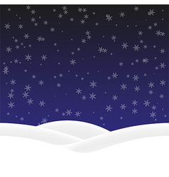 Background winter vector