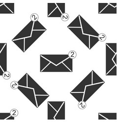 received message concept envelope icon vector image vector image