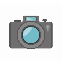 camera social media isolated icon design vector image