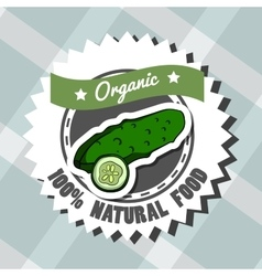 Natural Food 8 vector image