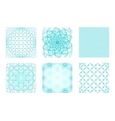 Sacred geometry background set vector image vector image