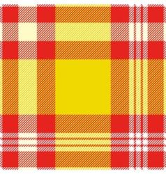 Seamless madras plaid pattern print vector