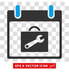 Toolbox calendar day eps icon vector