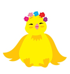 Cute chick 3 vector