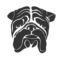 Facebulldog preview vector