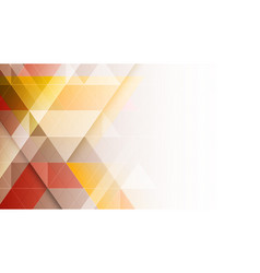 Abstract background with geometric triangular vector