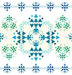 Colorful ethnic seamless pattern design vector