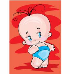 the lovely child vector image vector image