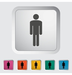 Male gender sign vector