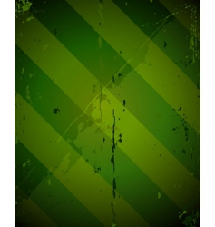 green striped grunge military texture vector image