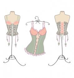 corset vector image
