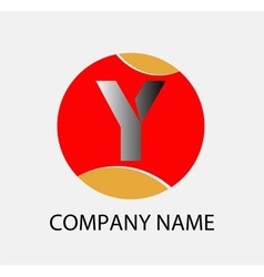 Letter y logo symbol design template elements vector