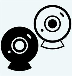 Web camera ico vector image
