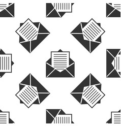 mail icon seamless pattern envelope symbol e-mail vector image