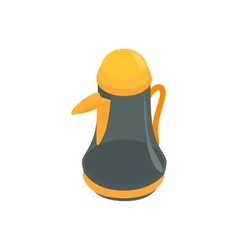 Pitcher icon isometric 3d style vector