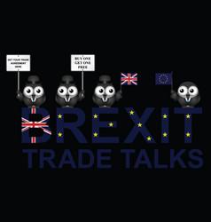 Uk trade talks delegation vector