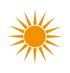 sun summer sunny design vector image