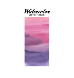 abstract watercolor texture vector image vector image