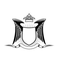 Heraldry shield vector