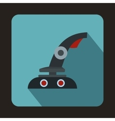 Gaming chair icon flat style vector