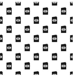 wine list pattern vector image