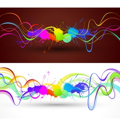 Color abstract background vector image vector image