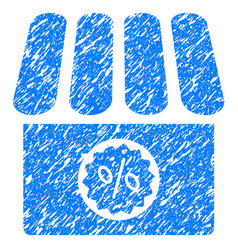 Drugstore sale grunge icon vector
