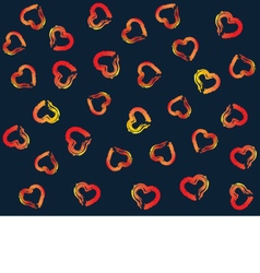 Festive background for valentines day pattern vector