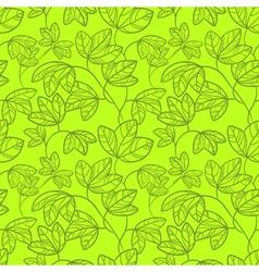 green seamless vector image