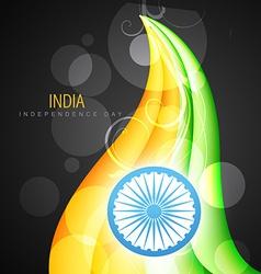 Indian flag design art vector