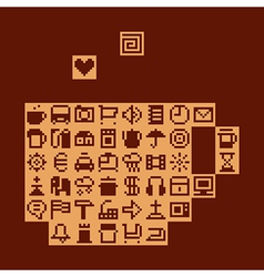Internet cafe vector image vector image