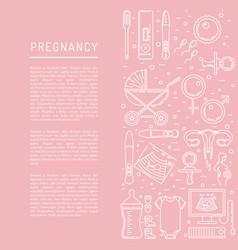 Pregnancy icon vector