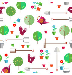 seamless pattern on a light background vector image vector image
