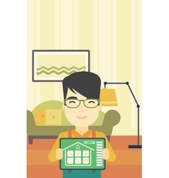 Smart home automation vector