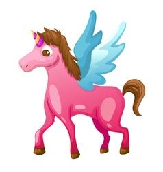 Beautiful unicorn vector