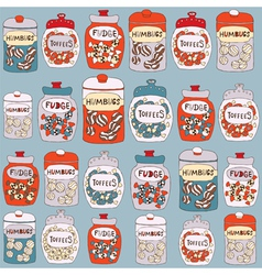 Candy card vector image vector image