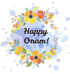 Card deducted to onam vector