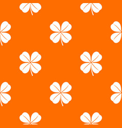 clover leaf pattern seamless vector image
