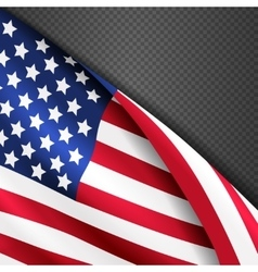 Patriotic background with american USA vector image