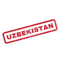 Uzbekistan Rubber Stamp vector image vector image