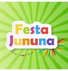 Festa jinina background vector